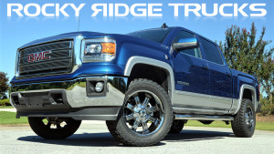 Rocky Ridge Trucks Elevation Package Exterior