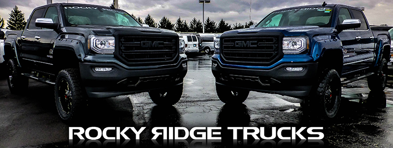 Rocky Ridge Trucks at Dave Arbogast