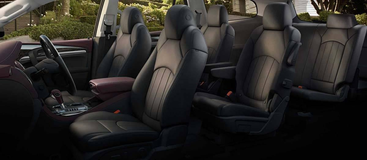 2017 Buick Enclave Seating