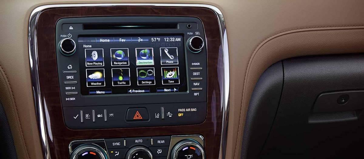 2017 Buick Enclave Technology