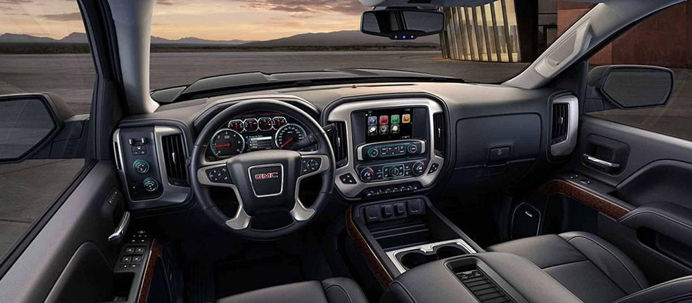 2017 GMC Sierra Interior Gallery5