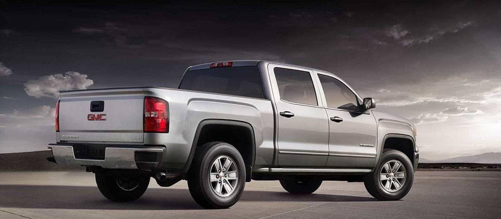 2017 Sierra SLE in Quick Silver Metallic