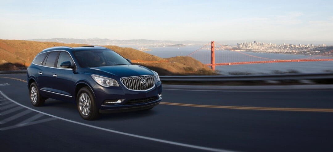 2017 Buick Enclave performance