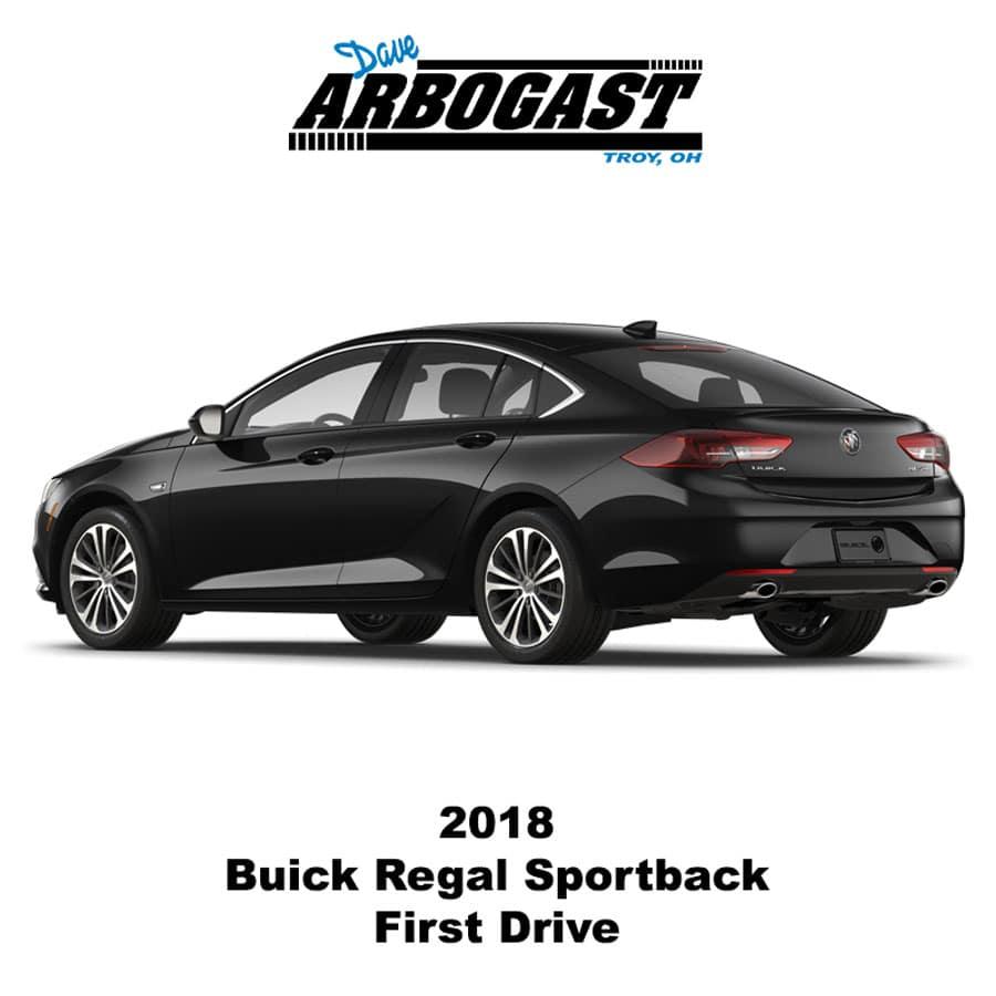 First Drive 2018 Buick Regal Sportback