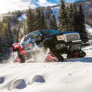 Gmc Sierra All Mountain Concept The Ultimate Snowmobile