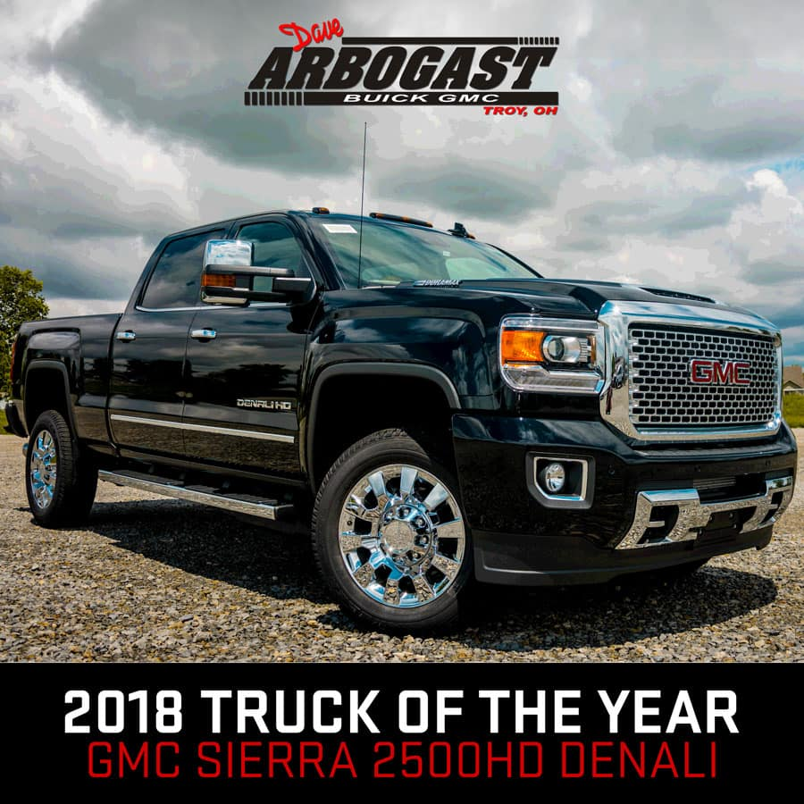 gmc sierra denali 2500hd named 2018 pickup truck of the year dave arbogast gmc sierra denali 2500hd named 2018