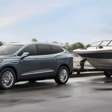 2018 Buick Enclave Premium Exterior Towing a Boat