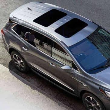 2018 Buick Enclave Premium from above