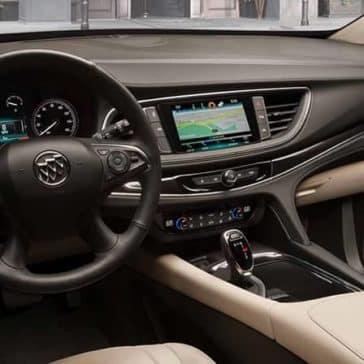 018 Buick Enclave Premium Interior Driver's View