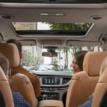 2018 Buick Enclave Premium Interior seating