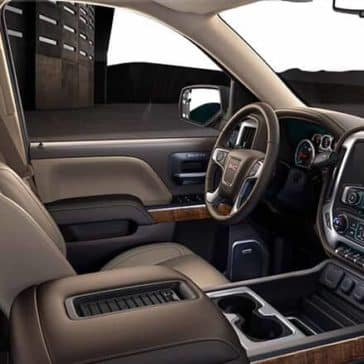 2018 GMC Sierra Interior passenger's view