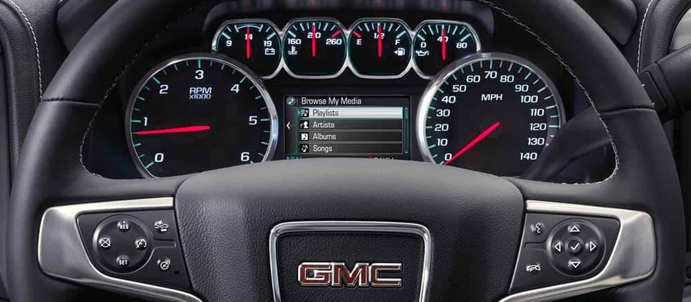 2018 GMC Sierra Interior instrument panel