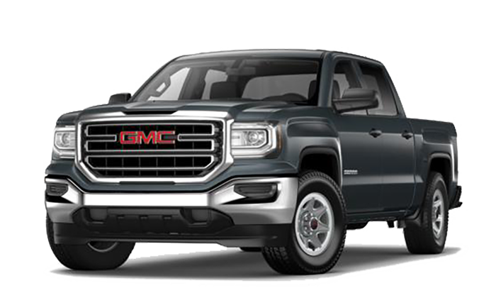 2018 GMC Sierra On White