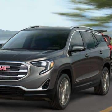 2018 GMC Terrain towing a trailer