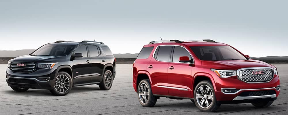 2018 Gmc Acadia Trim Levels Dave Arbogast Buick Gmc Near