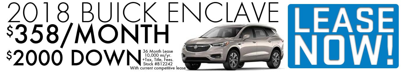 Buick lease specials dayton