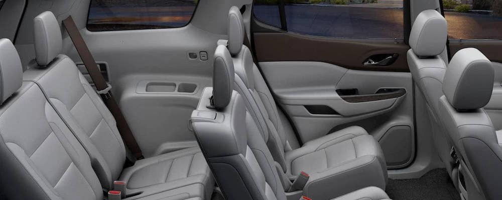 2019 Gmc Acadia Interior Dimensions Features Troy Crossovers