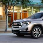 2019 GMC Terrain on a city road