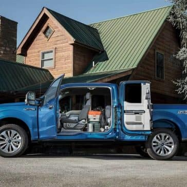 2019 Ford F-150 Open Doors