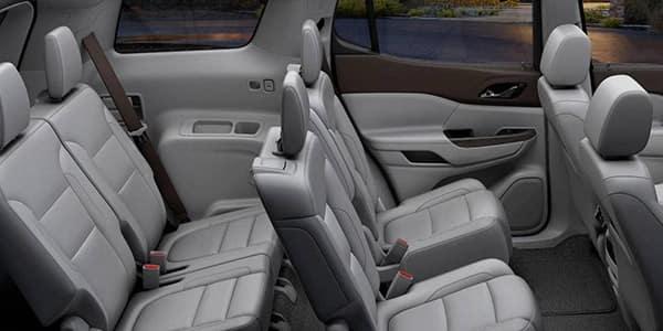 2019 GMC Acadia interior seating