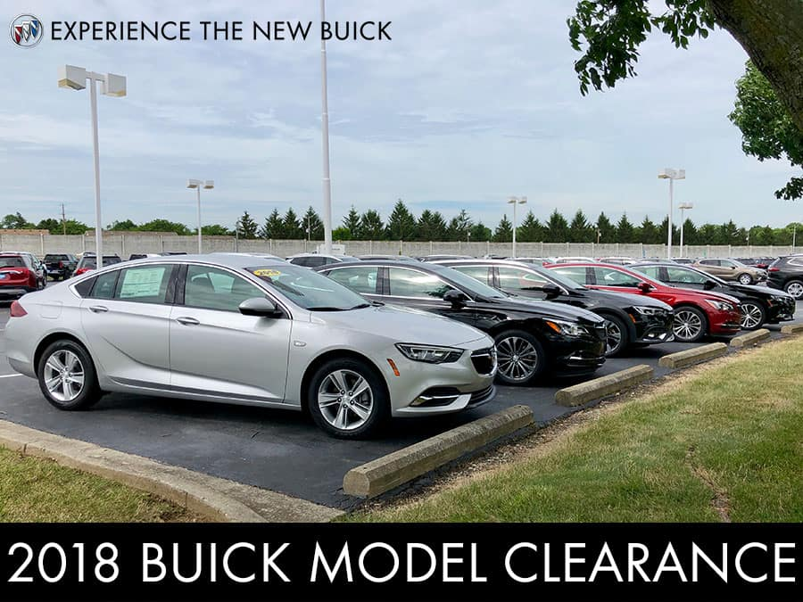 2018 Buick Model Clearance