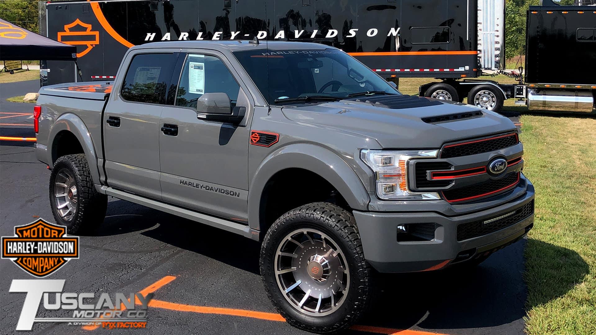 Harley-Davidson Ford F-150 Trucks | Dave Arbogast