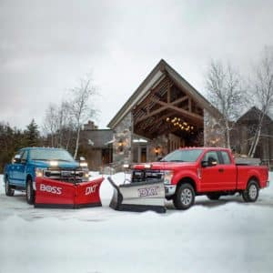 2020 Ford Super Duty Snow Plow Package