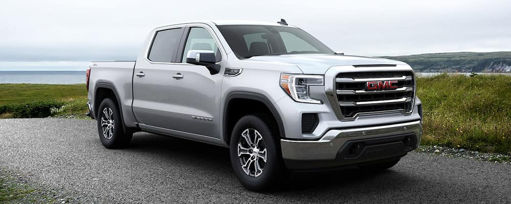 2020 GMC Sierra 1500 white