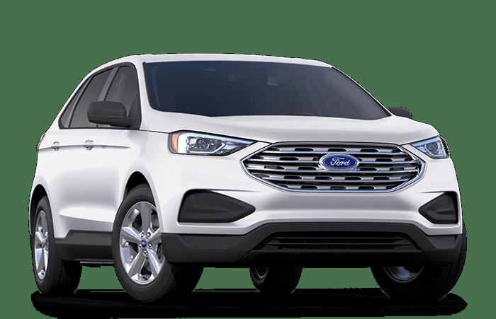 2020 Ford Edge White