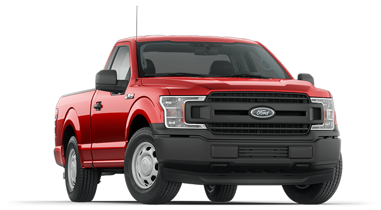 2020 Ford F-150 Red