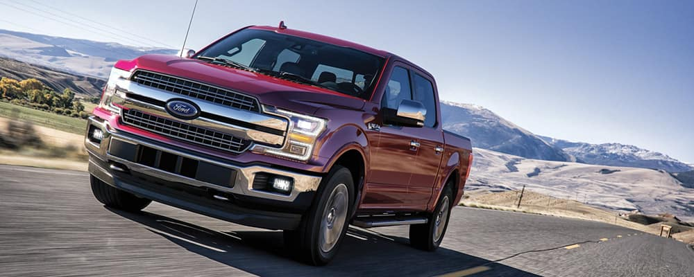 2020 Ford F-150 on highway