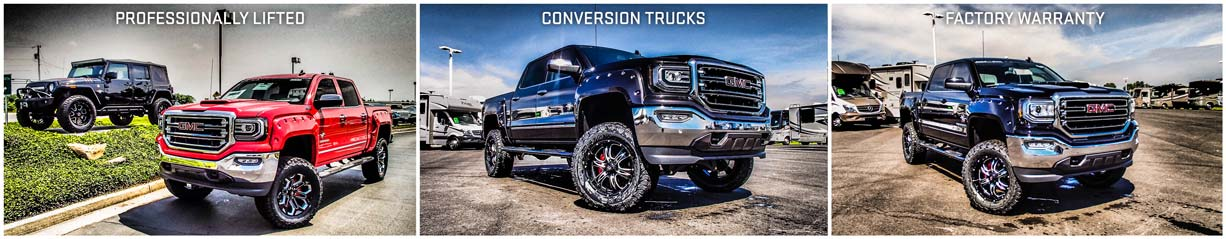 Lifted Conversion Trucks