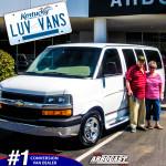 Happy Conversion Van Customers Kentucky