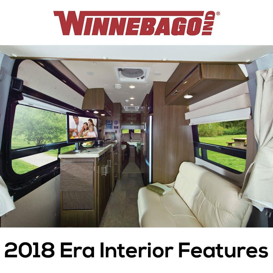 2018 Era Interior Features Winnebago