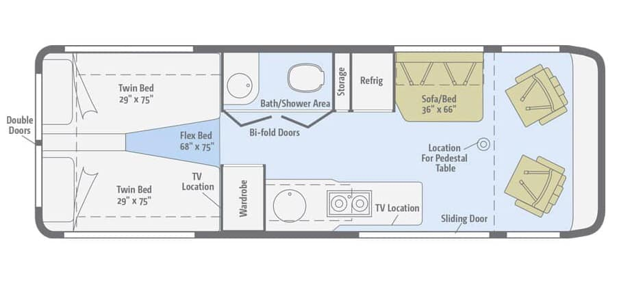 Winnebago Era 70A Floor Plan
