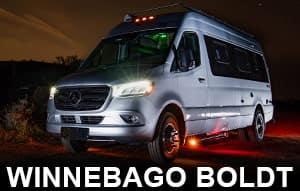 Winnebago Boldt Class B Motorhome Models