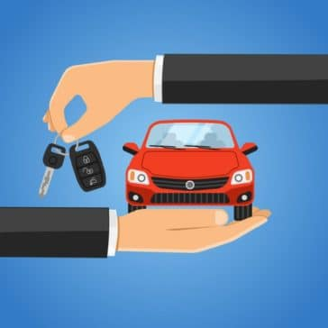 clip art hands trading keys for a new vehicle
