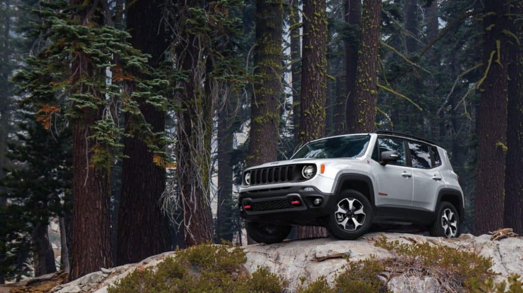 The new 2020 Jeep Renegade available now at David Dodge of Glen Mills.