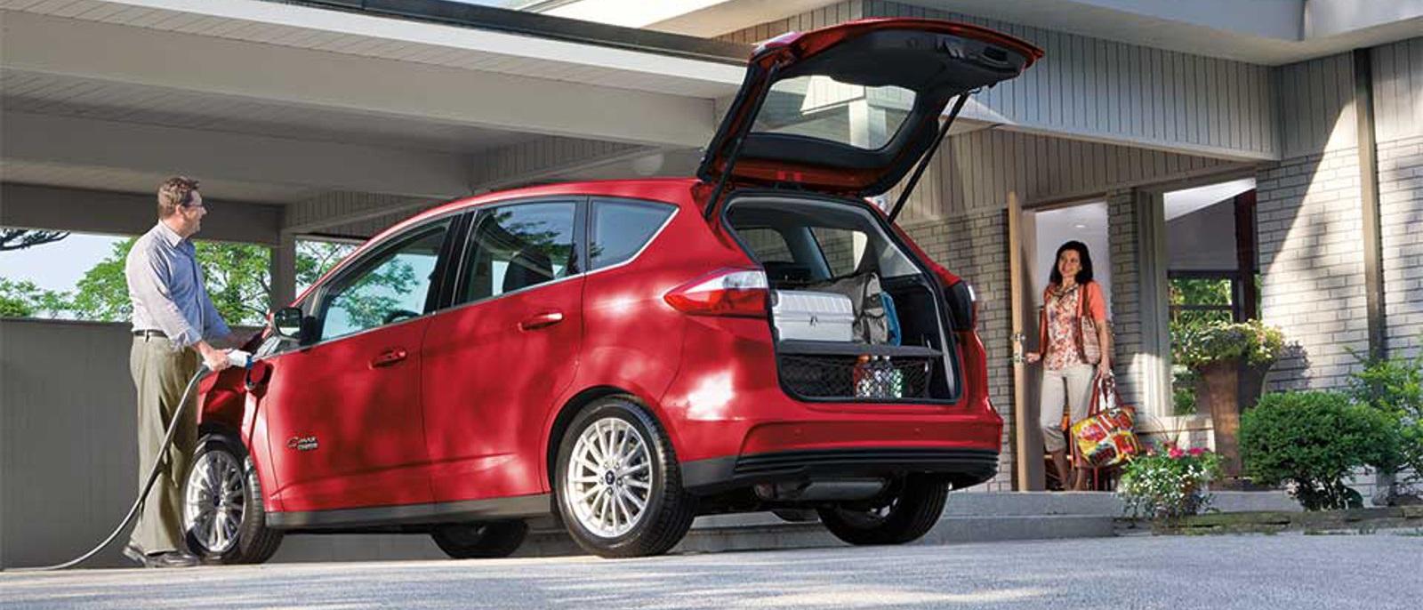 2015 Ford C-MAX Energi Hybrid Charging