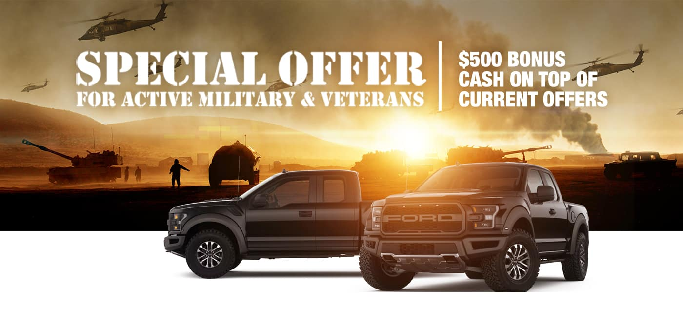 Military - Special Offer