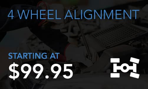 4 Wheel Alignment Service Coupon