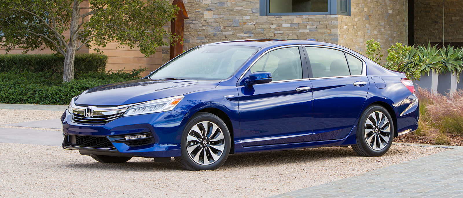 2017 Honda Accord Hybrid Blue