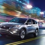 2016 Honda CR-V city driving