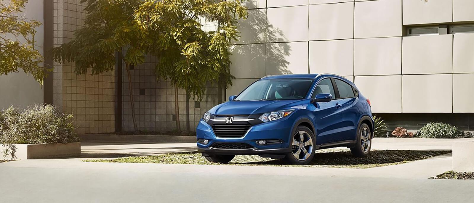2017 Honda HR-V Blue