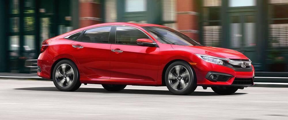 2017 Honda Civic Side View