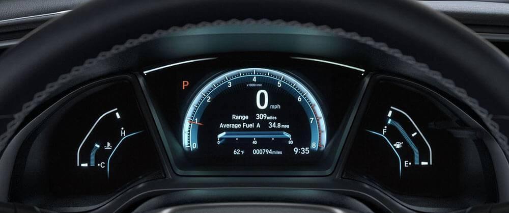2017 Honda Civic interior features