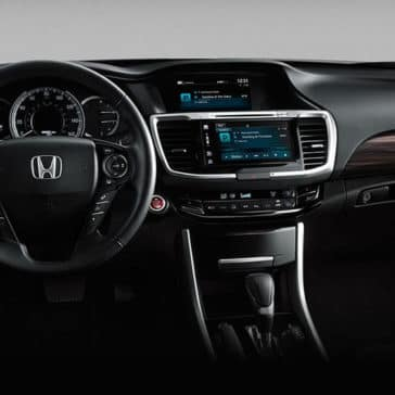 2017 Honda Accord Sedan Interior Dashboard