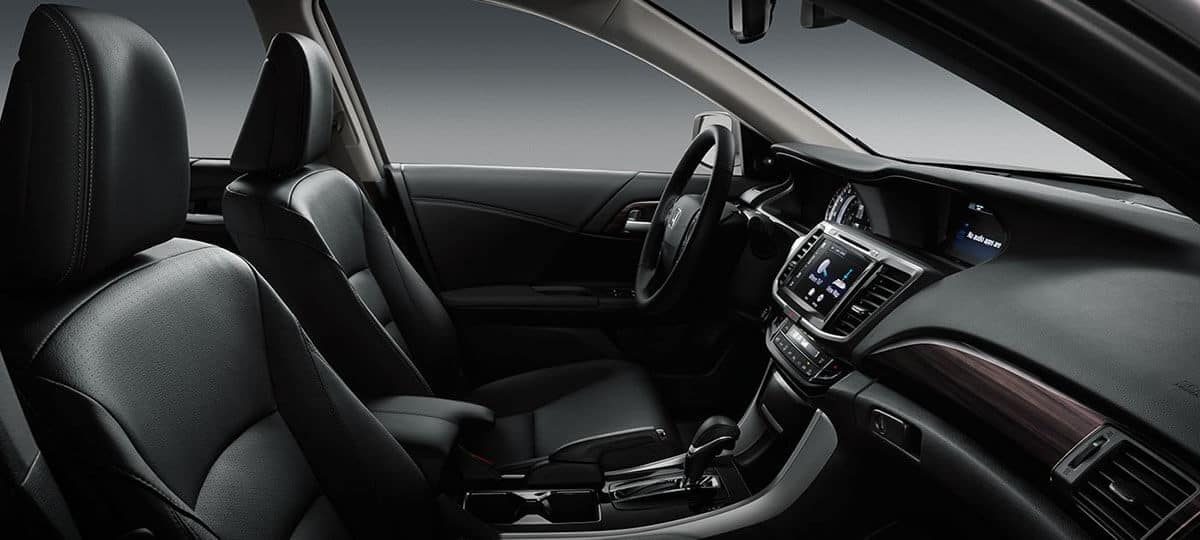 2017 Honda Accord Sedan Interior Front Seating
