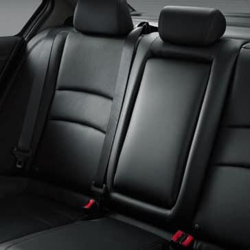 2017 Honda Accord Interior Rear Seating