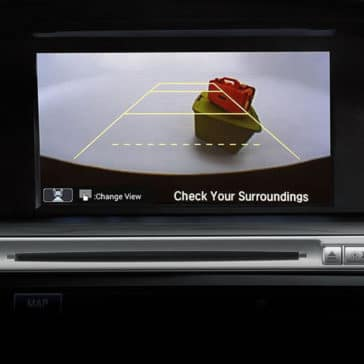 2017 Honda Accord Sedan Rear View Camera Screen
